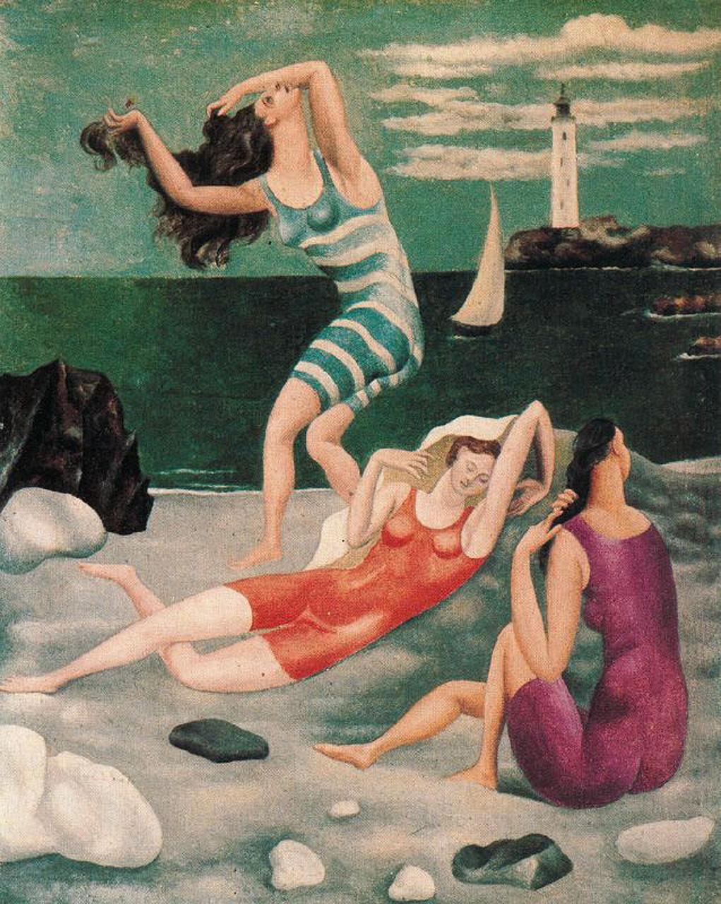 Bathers, 1918