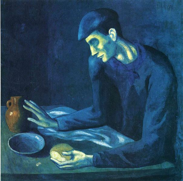 Breakfast of a Blind Man, 1903 - Pablo Picasso