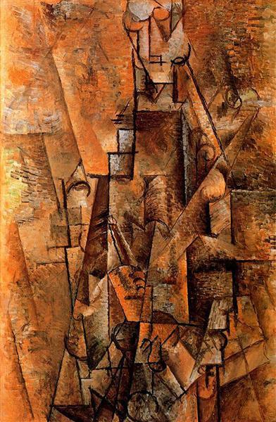 Clarinetist, c.1911 - Pablo Picasso