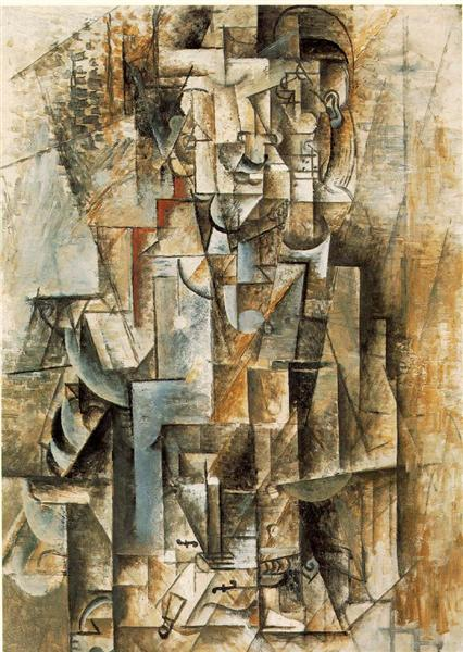 Man with guitar, 1912 - Pablo Picasso