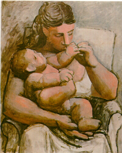 Mother and child, 1921