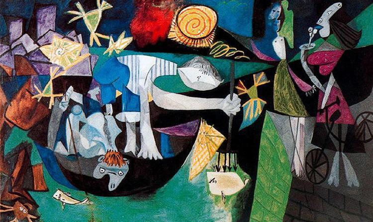 Night fishing at Antibes, 1939 - Pablo Picasso