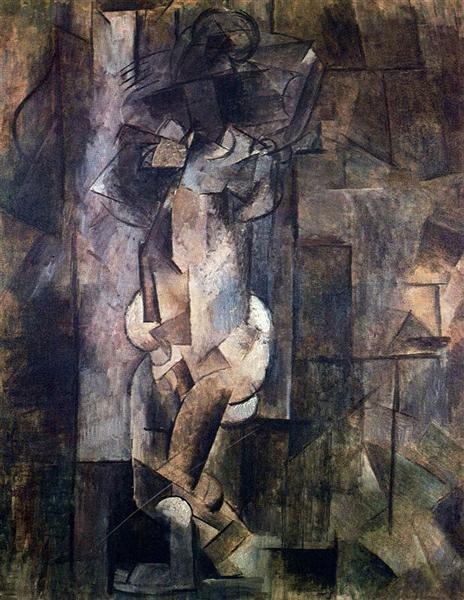 Nude figure, c.1910 - Pablo Picasso