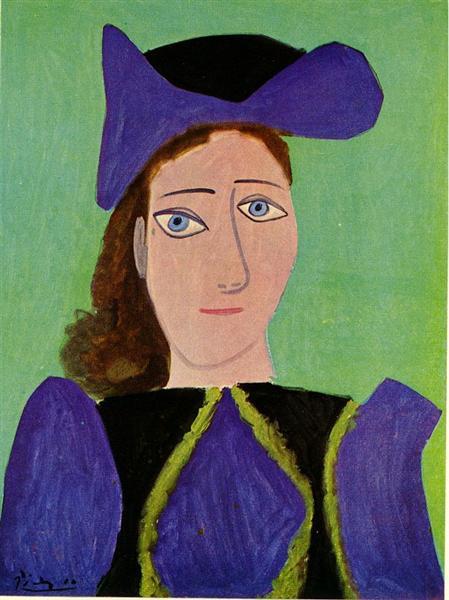Portrait of D. M., 1943 - Pablo Picasso