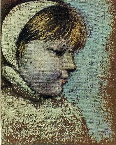 Portrait of Maya - Pablo Picasso