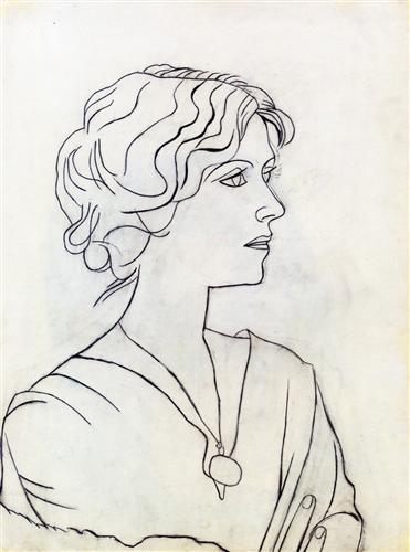 Portrait of Olga - Pablo Picasso