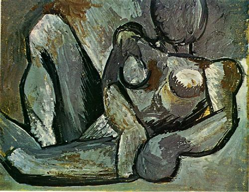 Reclining Nude - Pablo Picasso