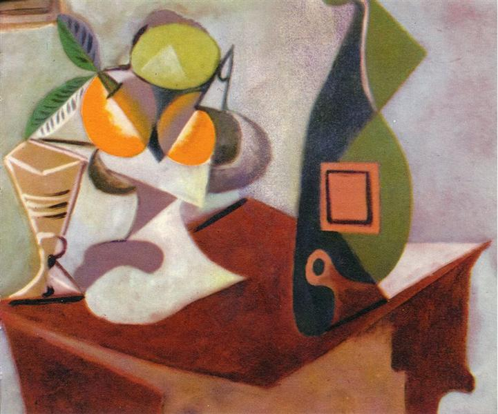 Still life with lemon and oranges, 1936 - Pablo Picasso