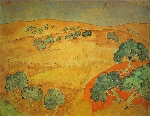 Summer landscape - Pablo Picasso
