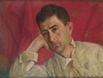 Axel Bakunts portrait - Panos Terlemezian
