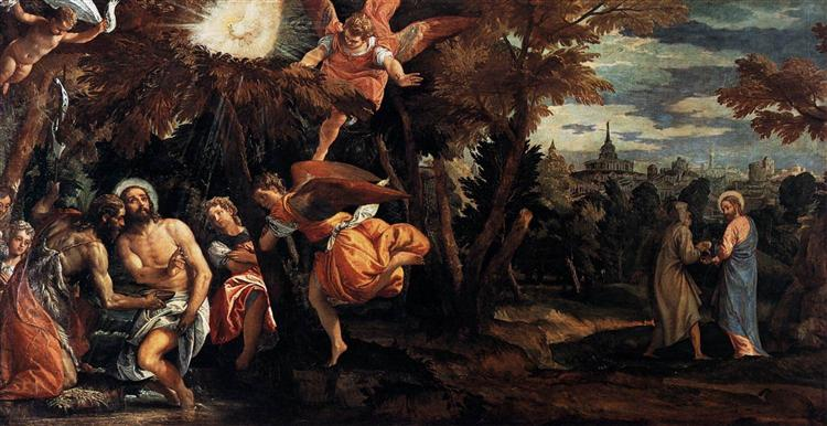 Baptism and Temptation of Christ, 1580 - 1582 - Paolo Veronese
