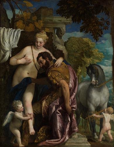 Mars and Venus United by Love - Paolo Veronese