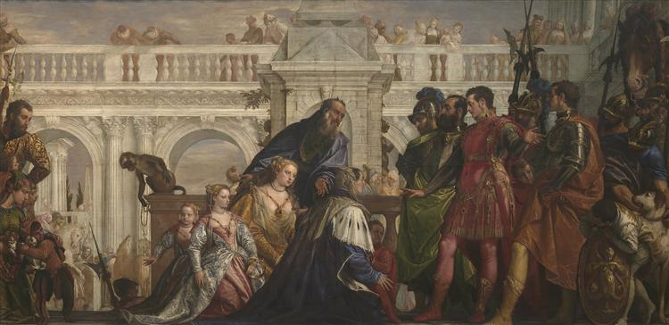 The Family of Darius before Alexander, 1565 - Paolo Veronese