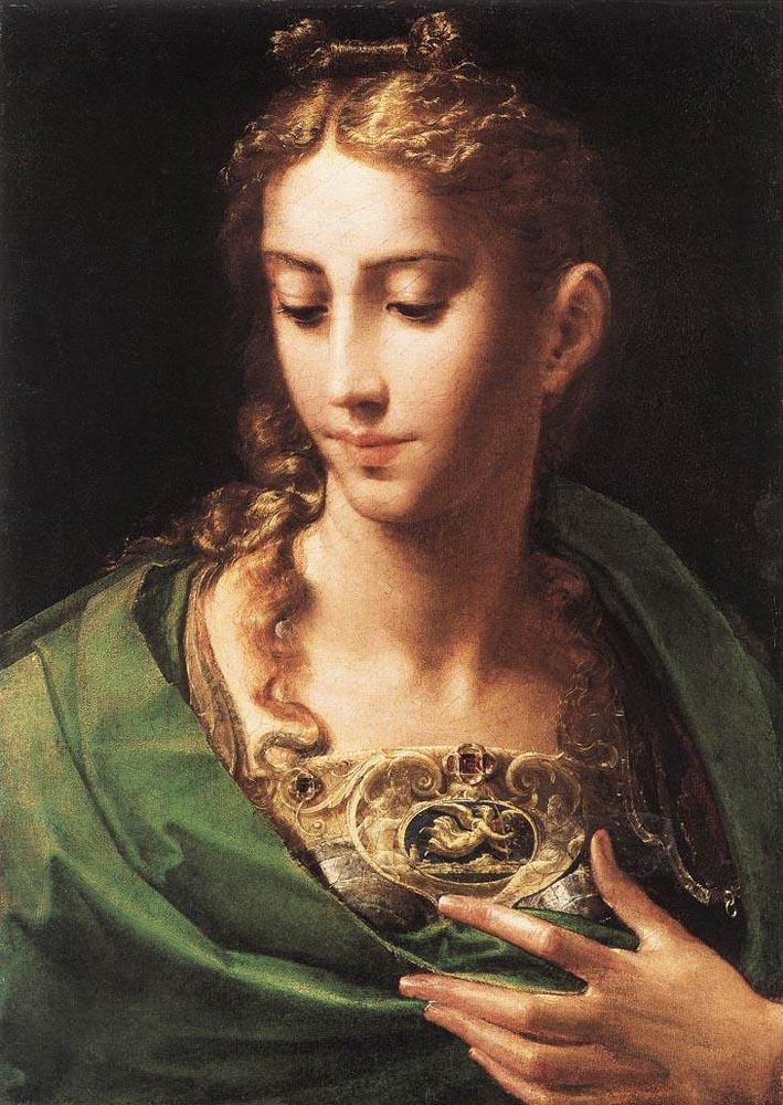 Pallas Athene, Parmigianino, 1539