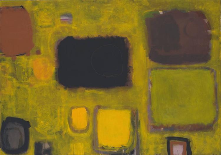 Yellow Painting: October 1958 May/June 1959, 1959 - Patrick Heron