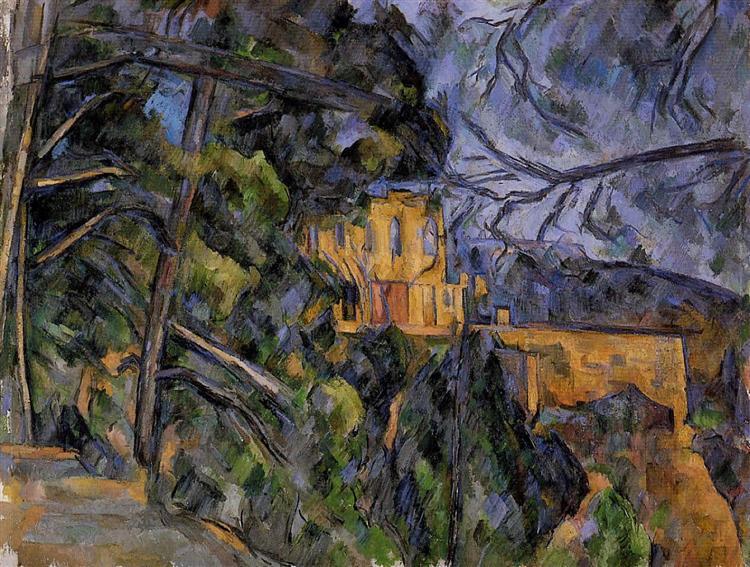 Chateau Noir, c.1904 - Paul Cezanne
