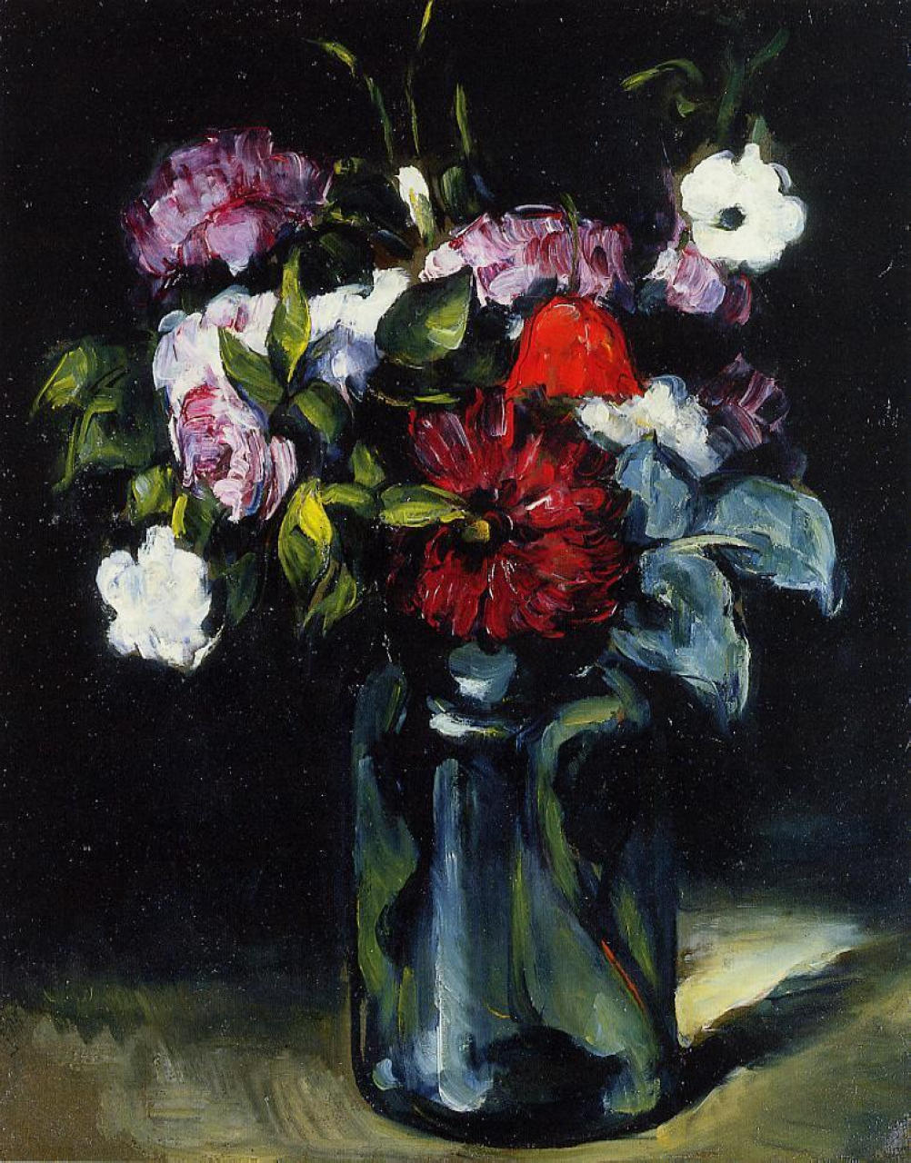 Flowers in a vase c1866 pierre auguste renoir wikiart reviewsmspy