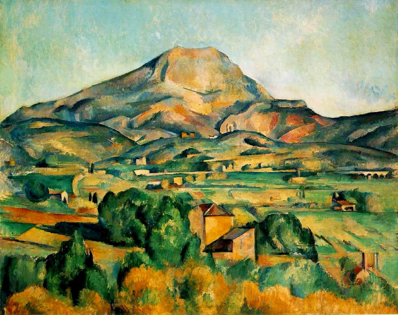 Paul Cezanne Mont Sainte Victoire