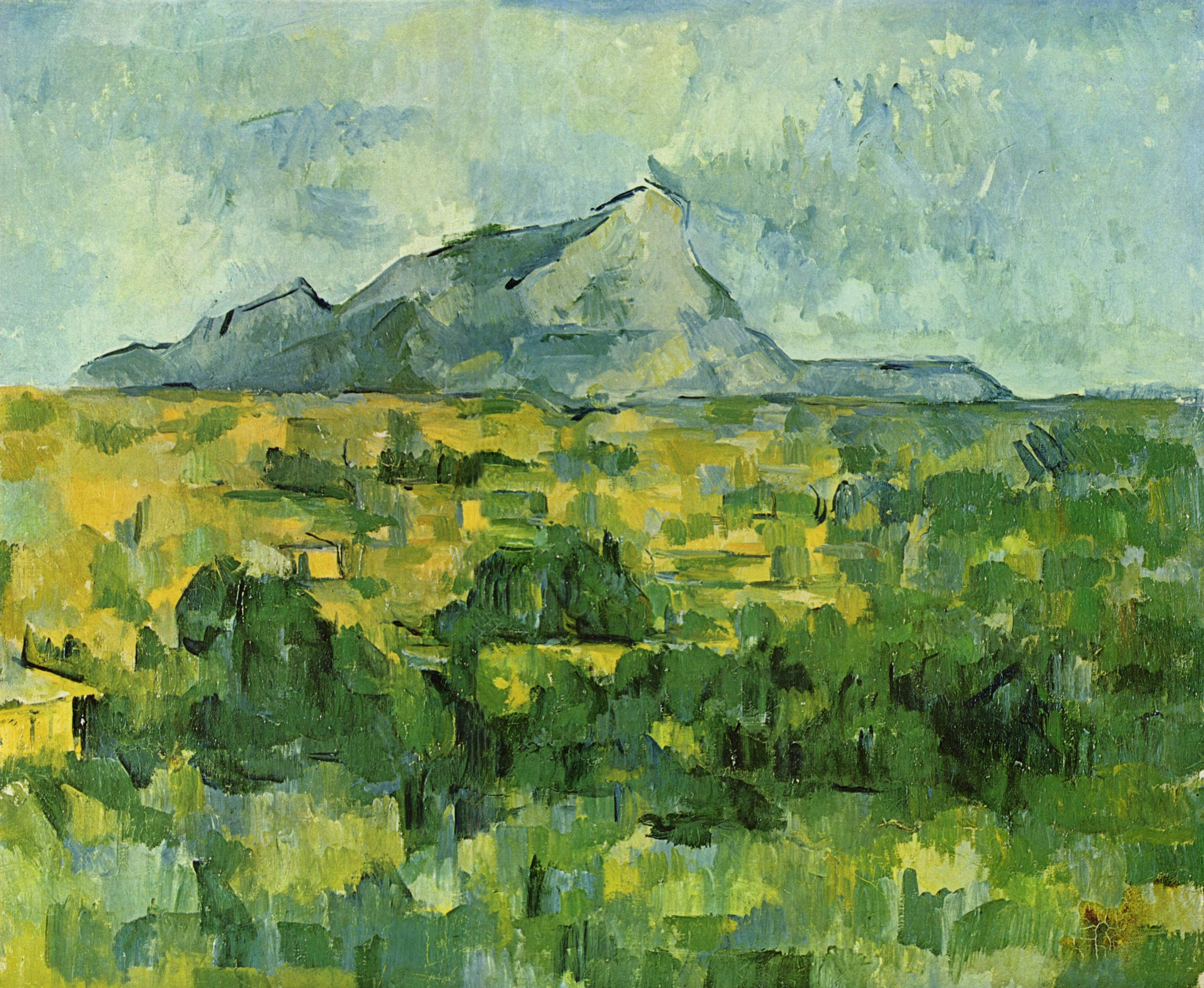 Cezanne S Painting Style