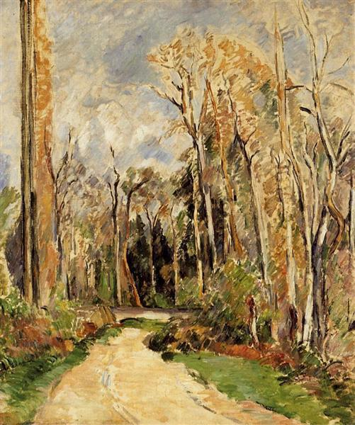 Path at the Entrance to the Forest, 1879 - Paul Cezanne