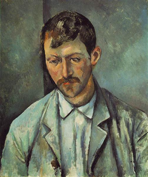 Peasant, 1891 - Paul Cezanne