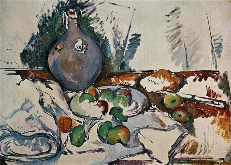Still Life with Water Jug, 1893 - Paul Cezanne