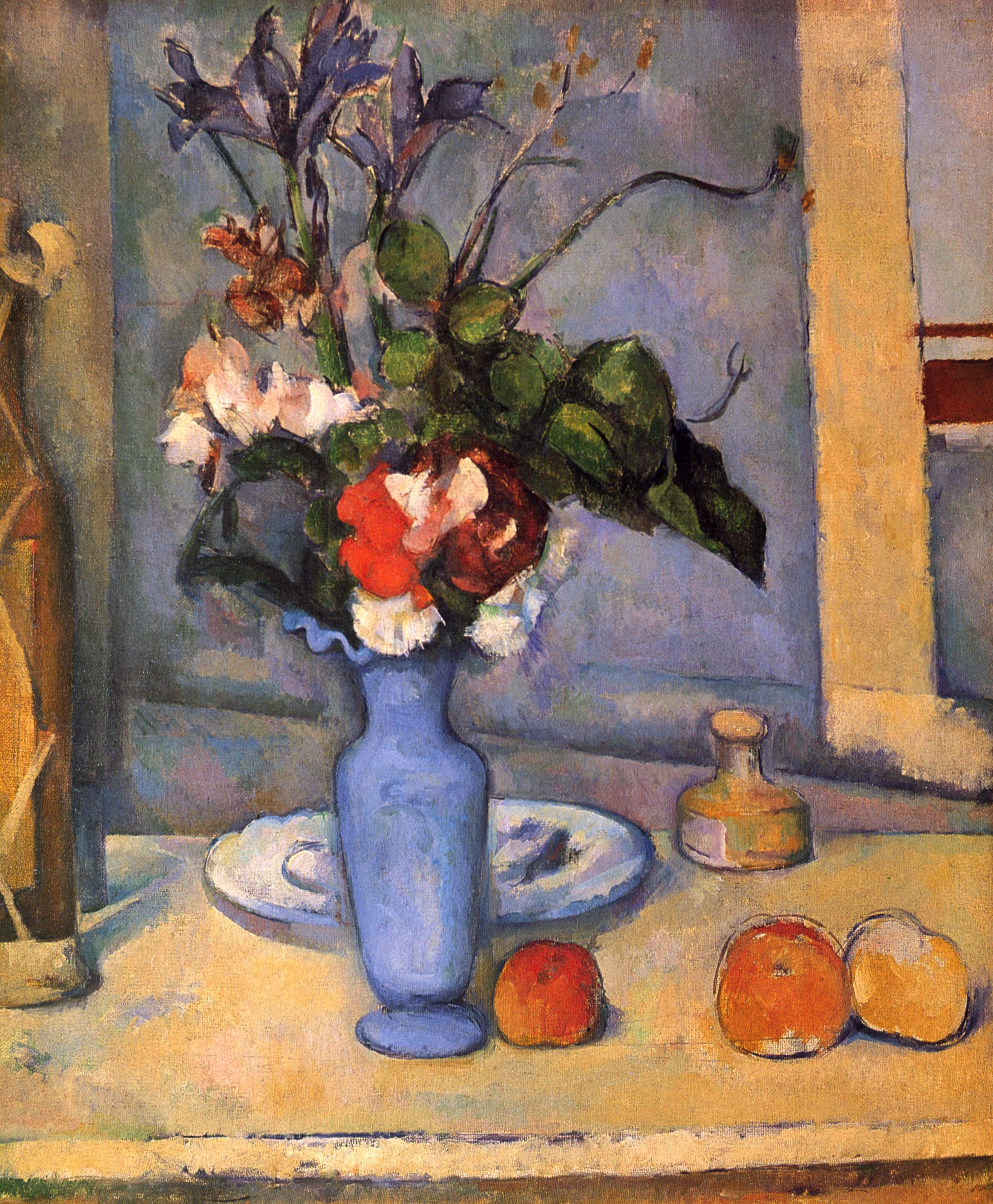 The Blue Vase C 1887 Paul Cezanne Wikiart Org
