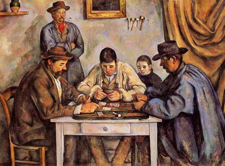 The Card Players, 1892 - Paul Cezanne