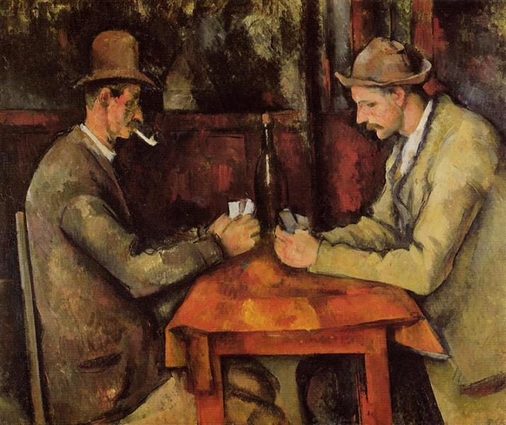 The Card Players, 1896 - Paul Cezanne