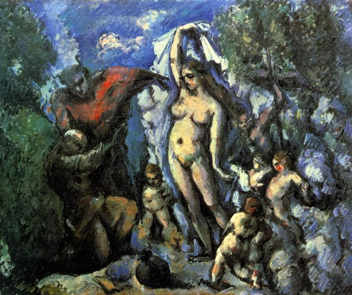 The Temptation of St. Anthony, c.1877 - Paul Cezanne