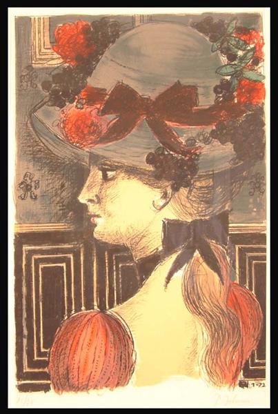 Hat - Paul Delvaux