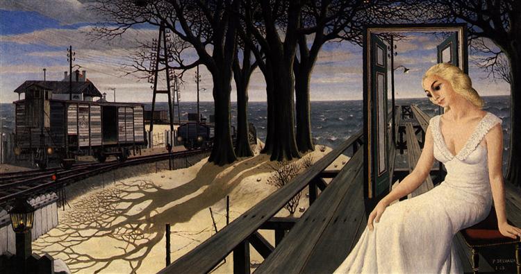 Shadows, 1965 - Paul Delvaux
