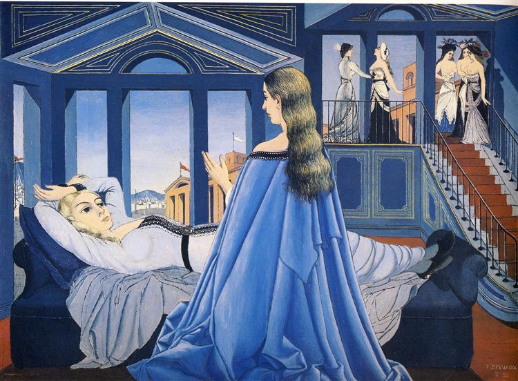 The Annunciation, 1955 - Paul Delvaux