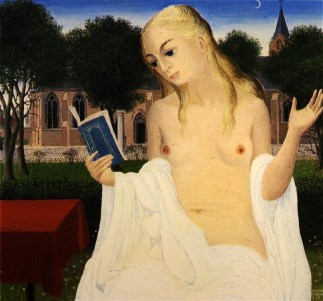 The Lady of Loos, 1969 - Paul Delvaux