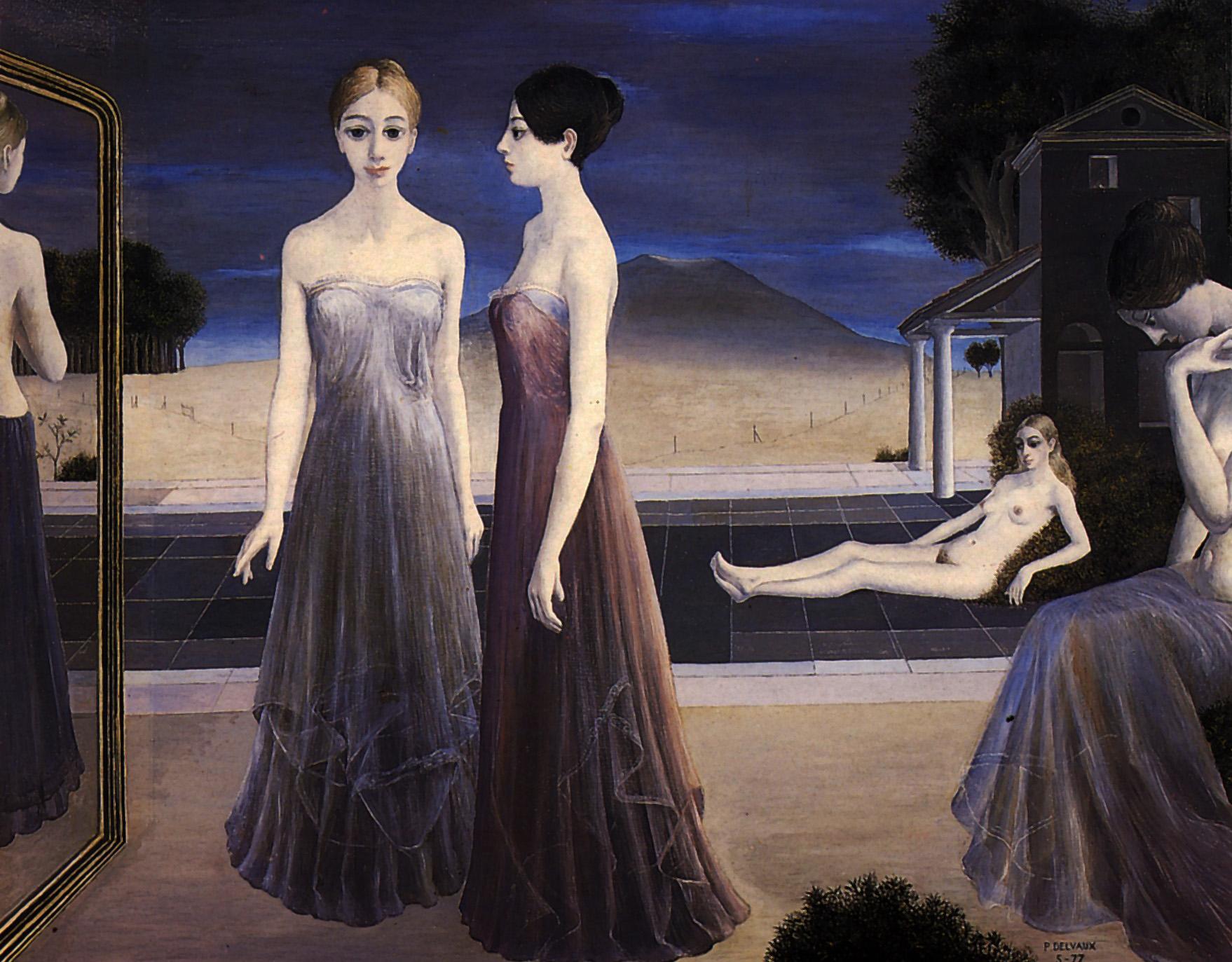 Paul Delvaux Gallery The Next Paul Delvaux