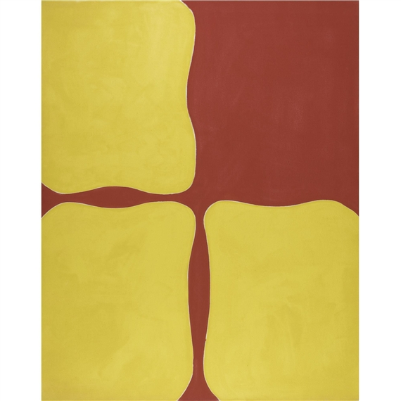 Abstract (Red and Yellow) - Paul Feeley