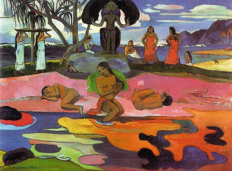 Day of the Gods, 1894 - Paul Gauguin