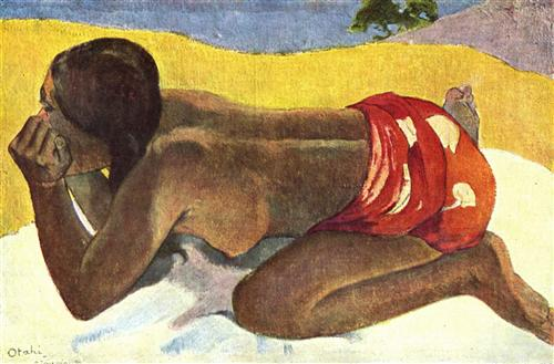 Alone - Paul Gauguin