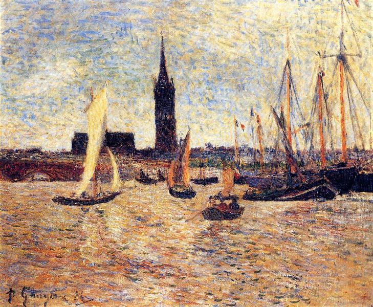 Bordeaux Harbour, 1886 - Paul Gauguin