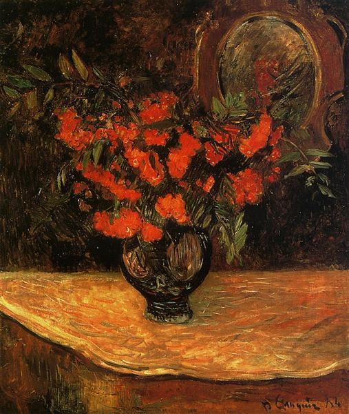 Bouquet, 1884 - Paul Gauguin