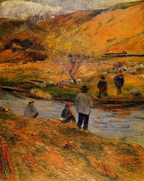 Breton Fisherman, 1888 - Paul Gauguin