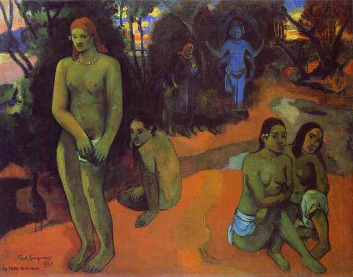 Delectable Waters, 1898 - Paul Gauguin