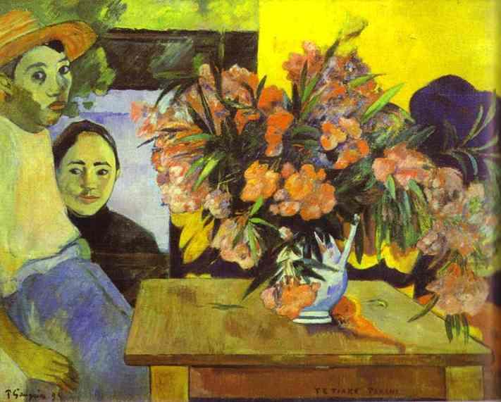 Flowers of France, 1891 - Paul Gauguin