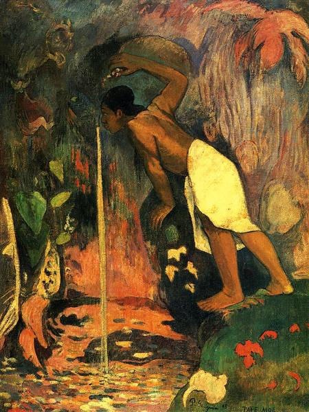 Mysterious Water, 1893 - Paul Gauguin