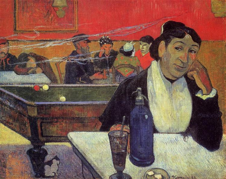 Night café, Arles, 1888 - Paul Gauguin