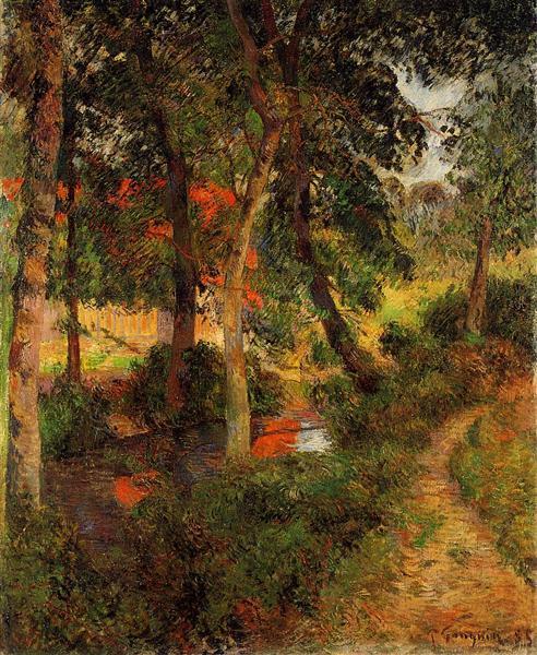 Pere Jean's Path, 1885 - Paul Gauguin