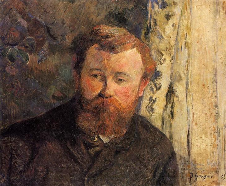 Portrait of Achille Granchi Taylor, 1885 - Paul Gauguin