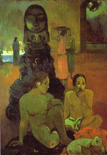 The Great Buddha, 1899 - Paul Gauguin