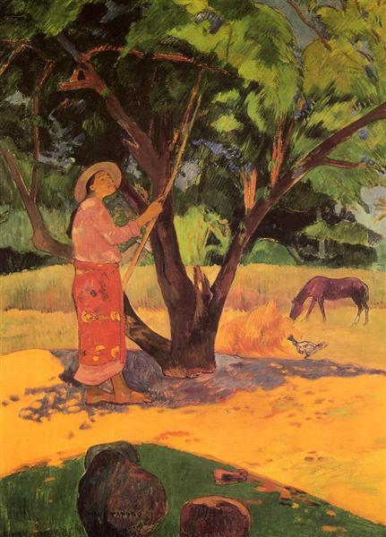 The lemon picker, 1891 - Paul Gauguin