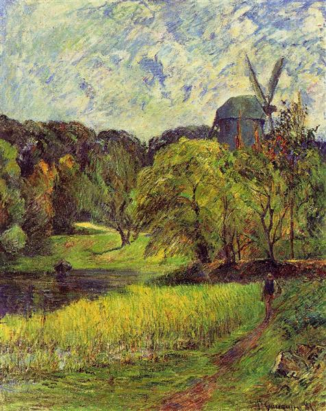 The Queen's Mill, 1881 - Paul Gauguin